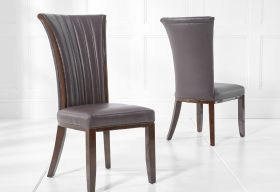 Alpine Brown Chairs Lifestyle