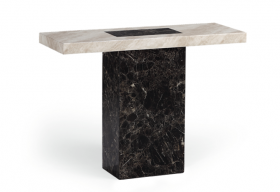 Barletta Marble Effect Hall Table