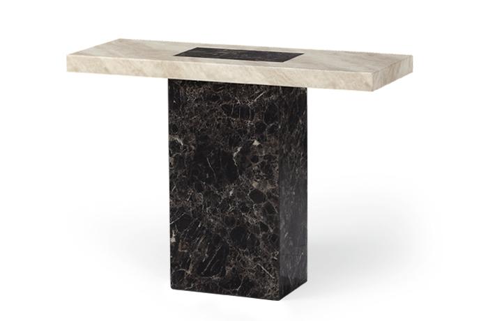 Barletta Marble Effect Hall Table