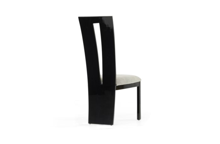 Valdina Chair Black Back