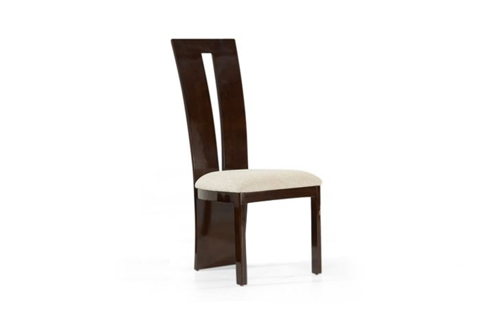 Valdina Chair Brown Front