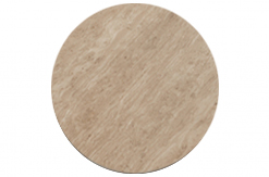 Rezzato 170cm Brown Pedestal Marble Dining Table Pattern