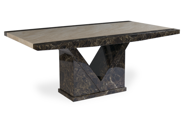 Tenore Marble Effect Dining Table