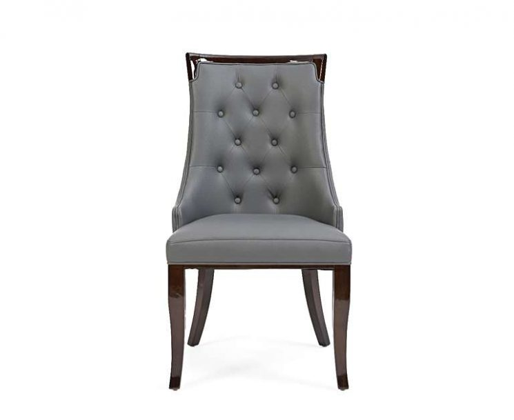 Astounding Angelica Grey Faux Leather Dining Chairs Pair Unemploymentrelief Wooden Chair Designs For Living Room Unemploymentrelieforg
