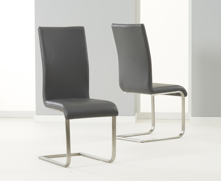 Malaga Faux Leather Dining Chairs Thomas Brown Furnishings
