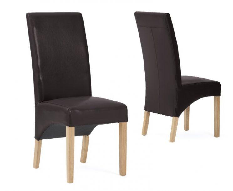 Cannes Chair Brown Pair