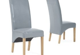 Cannes Chair Grey Pair