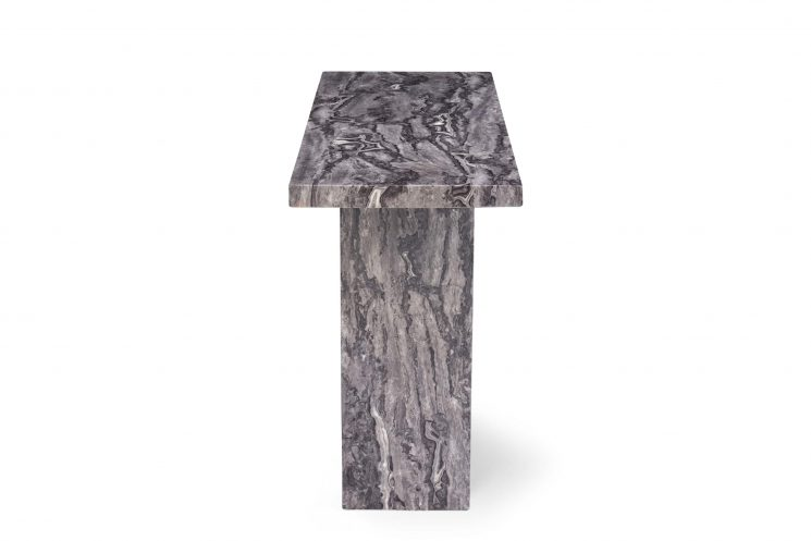 Crema Grey Marble Console Table Lifestyle