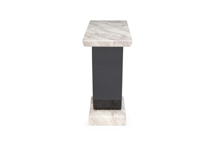 Raphael Cream Marble Console Table